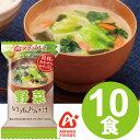 アマノフーズ いつものおみそ汁 野菜(10食入り)/ フリー