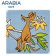 \★マラソン連動セール★/Arabia アラビア ムーミンデコツリー スニフ 89×89mm / Moomin Deco Tree Sniff 壁掛け用プレート インテリア 壁飾り 北欧