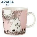 【SALE】ARABIA アラビア ムーミンマグカップ ピンクラブ 300ml / Love Moomin Collection ムーミンコレクション 北欧 食器