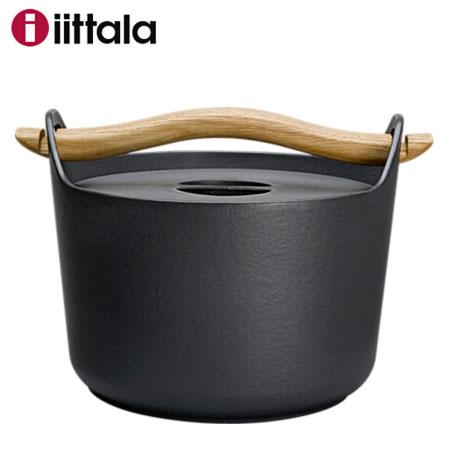 Iittala イッタラ Sarpaneva サルパネヴァ キャセロール3L / 鋳物鍋 IH対応...
