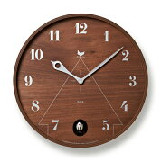 レムノス ブラウン カッコー 掛け時計 タカタレムノス