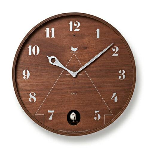 Lemnos レムノス LC11-09 BW PACE ブラウン / 鳩時計 カッコー時計 壁掛...