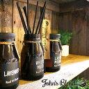 John's Blend ジョンズブレンド リードディフューザー 選べる4種類(ホワイトムスク、アップルペアー、レッドワイン、ムスクジャスミン、ローズムスク)芳香剤 ディフーザー アロマ 置き型【送料無料・あす楽対応】・・・