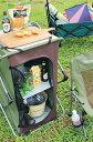 キャンプやバーベキュー、ピクニックで使えるストレージテーブル!【在庫限り】SPICE/スパイス/...