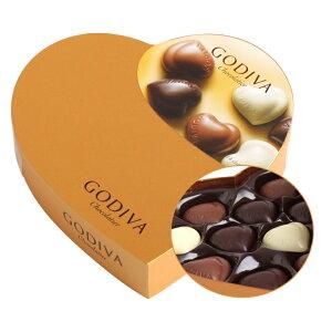 在庫処分50%OFFセール!GODIVA ゴディバ チョコレート クールセレクション 14粒入り ハートのボ...