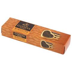 GODIVA ゴディバ チョコレート ダークトリュフハート 12枚入り チョコとビスケットのサクサク感...