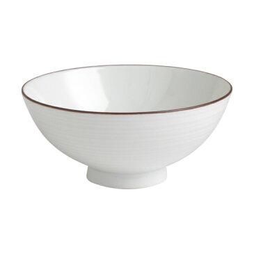白山陶器 白磁千段 4寸飯碗 / お茶碗 ご飯茶碗 波佐見焼