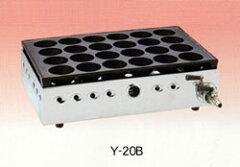 ヤマキン 家庭用ガスたこ焼器 Y-20B