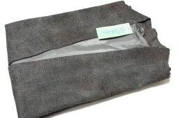 袖無しポンチョ-No.001(地色:深緑/身丈:約71.5センチ裄約33センチ/日本製品/素材:ポリエステル85%毛15%MからL対応)