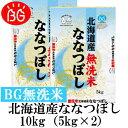 新米 お米 BG無洗米 10kg(5kg×2) 北海道産なな...