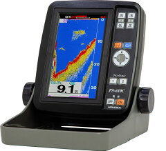 2020年新型 ホンデックス HONDEX 魚群探知機 PS-610C(PS-500C後継機)
