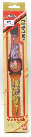 【未使用品】スラムダンク SLAM DUNK ダンクタイム  日常生活防水腕時計 バンダイ【中古】