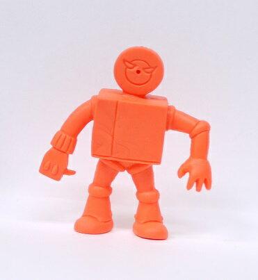 キン消し(キンケシ) 超人 プレイヤーマン A オレンジ キン肉マン消しゴム ゆでたまご【中古】
