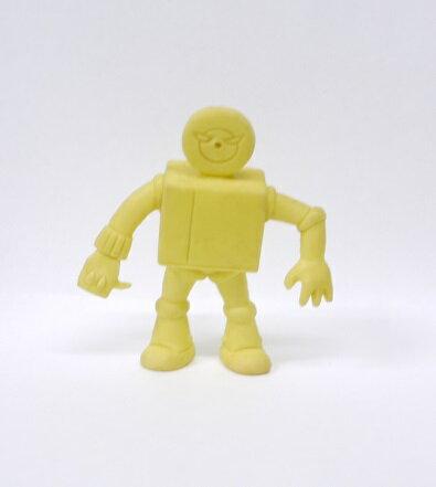 キン消し(キンケシ) 超人 プレイヤーマン A  黄色 キン肉マン消しゴム ゆでたまご【中古】