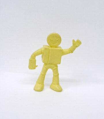 キン消し(キンケシ) 超人 プレイヤーマン B  黄色 キン肉マン消しゴム ゆでたまご【中古】