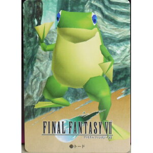 FINAL FANTASY VII ファイナルファンタジー7 カードダス トード 33