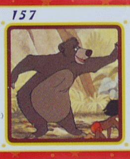 トミー ディズニー チョコパーティ パート7 157 バルー 「ジャングル・ブック」【中古】画像