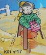 キンダーサプライズ Kinder Surprise k01n17 惑星調査隊 A