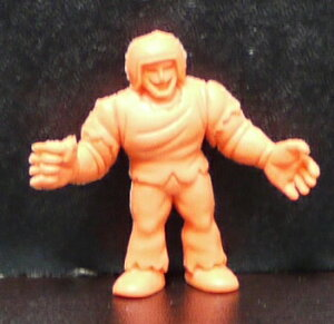 キンケシ キン肉マン消しゴム ゆでたまご 超人 ウォーズマン G オレンジ
