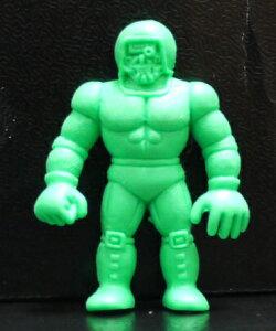 キンケシ キン肉マン消しゴム ゆでたまご 超人 ウォーズマン B 緑【中古】