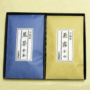 """京都宇治茶集 0 市宇治茶""""山峰""""100 g 0 市宇治煎茶""""有趣的""""100 克""""禮盒 (1 例) 2 個套裝的禮物"""",[fs04gm] (日本茶茶具分類禮品套裝的禮物你的年終禮物存儲樂天)"""
