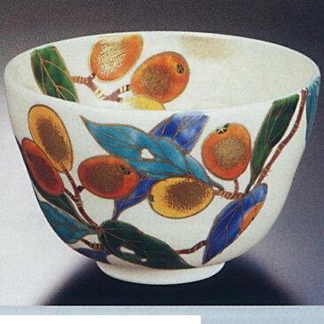 茶道具 茶碗 仁清 枇杷 水出宋絢 茶碗(茶道具 通販 楽天)