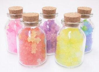 金平糖ミナモネオン50gいろんな色のこんぺいとう詰め合わせ瓶入り