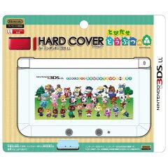 ■予約■【3DSLL】ハードカバー for 3DSLL とびだせ どうぶつの森 集合(2012年12月下旬発売)