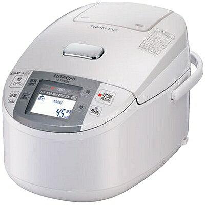 HITACHI 圧力&スチームIHジャー炊飯器 1升炊き 蒸気カット 極上炊き パールホワイト ...