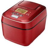 【炊飯器】 日立 ふっくら御膳 RZ-V100CM(R) [メタリックレッド]・日立 ・圧力IH ・5.5合 【979499】