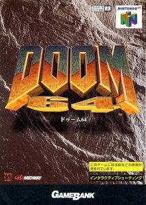 ■訳あり■【N64】DOOM64(ドゥーム64) 【パッケージ不良】
