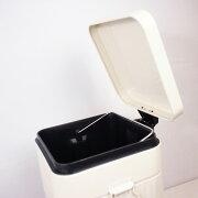 ペダル式ダストボックス【ブリキごみ箱】Lサイズ25×30×高42cm