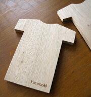 くすのき【防虫木板・2枚セット】Tシャツ型