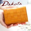 Dakota ダコタ 財布ピック 小銭入れ付き二つ折り財布 0033802(0036802)(革のお手入れ方法本付)レディース 財布 本革 二つ折り ポイント10倍 送料無料