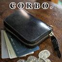 【実用的Wプレゼント付】 CORBO. コルボ-face Bridle Leather-フェイス ブライドルレザー シリーズカード入れ付きコインケース 1LD-023..