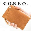 【実用的Wプレゼント付】 CORBO. コルボ 財布-CLAY Wor...