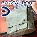 BAGGY PORT バギーポート ロウビキパラフィン ショルダーバッグ (大) ACR-471(革のお手入れ方法本付)メンズバッグ ショルダーバッグ 帆布 キャンバス ポイント10倍 baggyport カジュアル 通勤 通学 ギフト ギフト プレゼント 送料無料