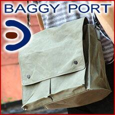 BAGGY PORT バギーポート ロウビキパラフィン ショルダーバッグ (大) ACR-47…