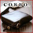 CORBO. コルボ-CLAY Works- クレイワークスシリーズ二つ折り財布 ラウンドファスナー 8JF-9974本革 財布 メンズ ブラウン 日本製 ポイント10倍 送料無料【楽ギフ_包装選択】