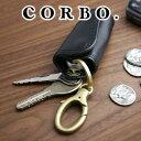 CORBO. コルボ-SLATE- スレート シリーズカーキーケース 電子キー 8LC-9943(革のお手入れ方法本付)メンズ ネイビー スマートキー 日本製 リモコンキー 車の電子キー ポイント10倍 ギフト プレゼント 送料無料