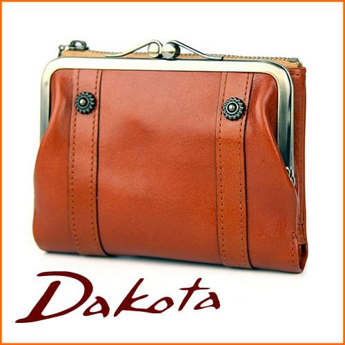 Dakota ダコタ 財布リードクラシック 二つ折り がま口財布 0036200(0030000)キャメル レディース...