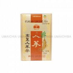高麗人参茶 50包(紙箱)(韓国飲料、お茶)