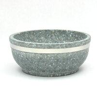 【本場韓国長水石】石焼ビビンバ鍋19cmベルト付8個入ケース