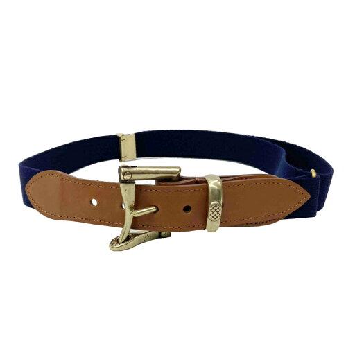 Quick Release Surcingle Belt 7-0278: Navy