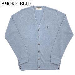 1960s Model Links Cardigan 5-1100: Smoke Blue