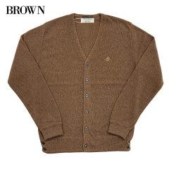 1960s Model Links Cardigan 5-1100: Brown