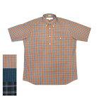 【3COLORS】INDIVIDUALIZEDSHIRTS(インディビジュアライズドシャツ)SEPTIS別注CLASSIFITSHIRTS(半袖クラシックフィットプルオーバーシャツ)MADRASCHECK