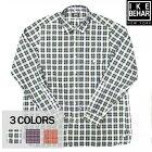 IKEBEHAR(アイクベーハー)L/SROUNDCOLLARSHIRTS(長袖ラウンドカラーシャツ)TARTANCHECK(タータンチェック)BROAD