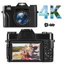 「クーポン利用で10346円」 4Kデジタルカメラ デジカメ YouTubeカメラ ウェブカメラ48