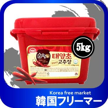 ◆韓国食品スンチャン コチュジャン5KgX1個 ◆ゴチュジャン 韓国調味料 韓国料理 韓国食材 韓国食品